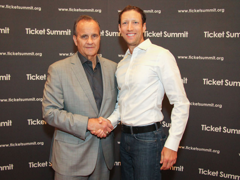 Mike at Ticket Summit