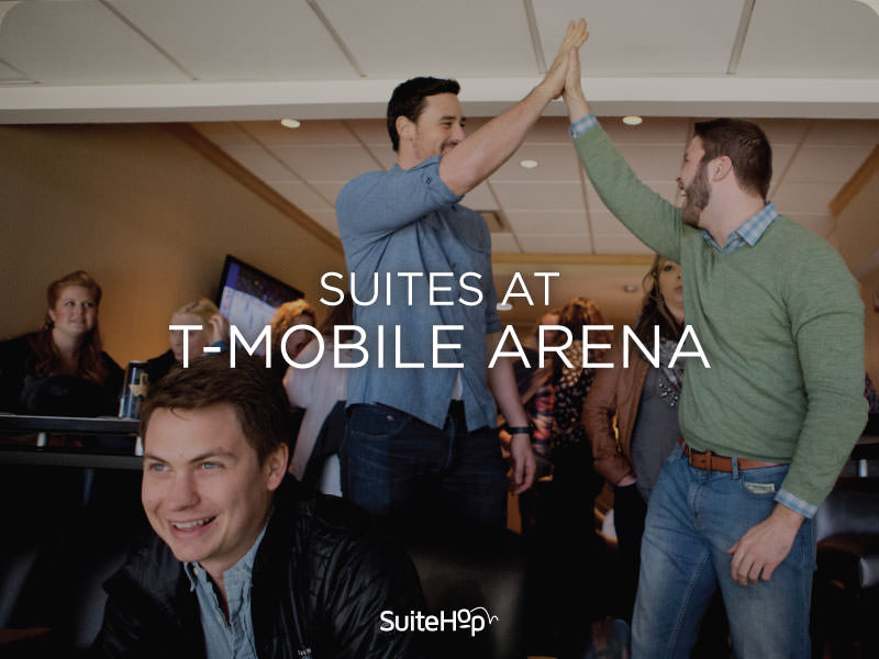 T-Mobile Arena suites are a one-of-a-kind experience.