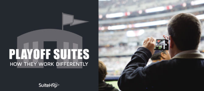 How Playoff Suites Work Differently