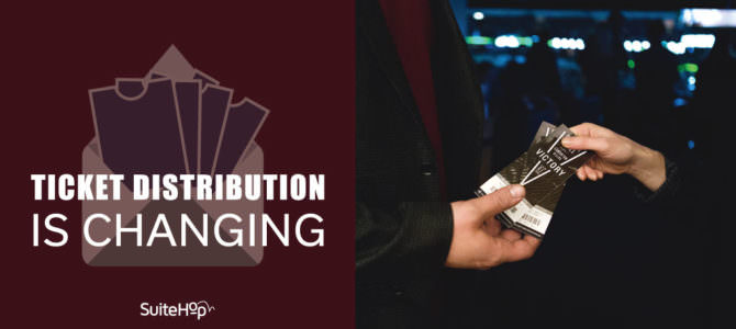 Ticket Distribution is Changing