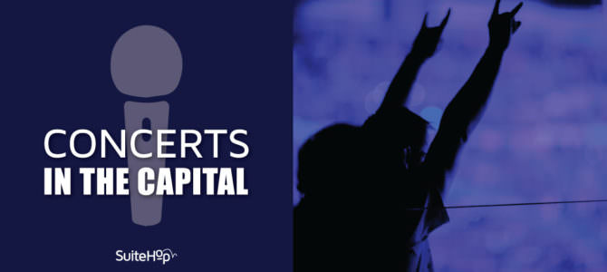 Concerts in the Capital from a Verizon Center Suite