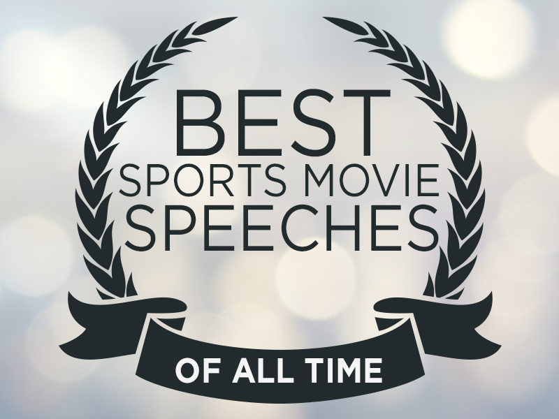 Best Sports Move Speeches of All Time