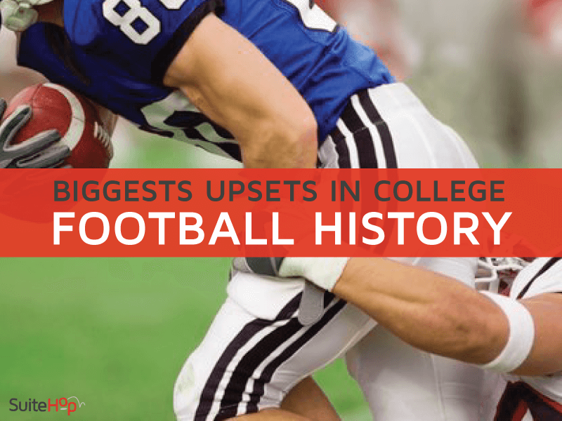 The Biggest Upsets in College Football History