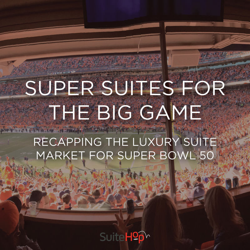 Super Suites at the Big Game