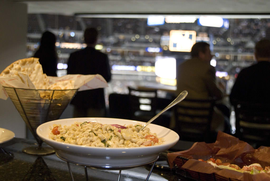 How much should you expect to spend on suite catering?