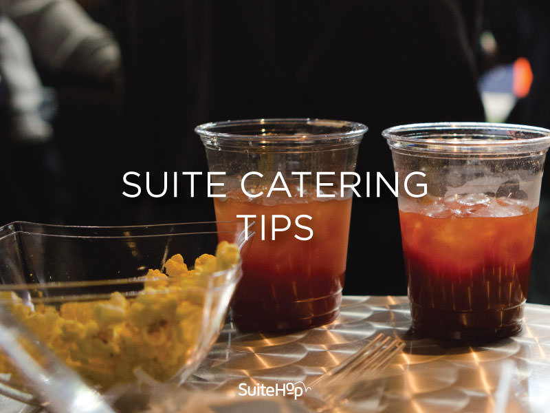 Suite Catering Tips