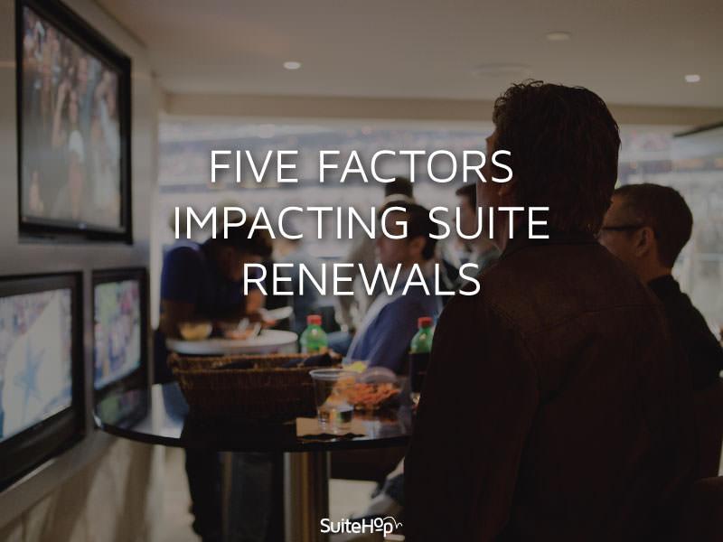 Five Factors Impacting Suite Renewals