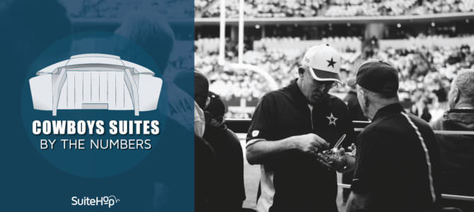 Cowboys Suites by the Numbers