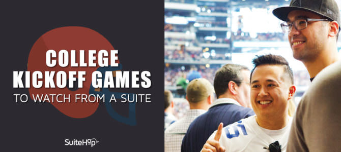 College Kickoff Games to Watch From a Suite