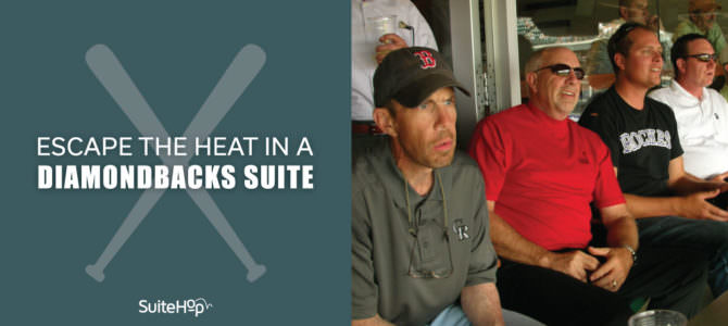 Escape the Heat in a Diamondbacks Suite