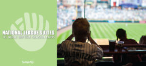 These National League MLB suites are ideal for fall client entertainment.