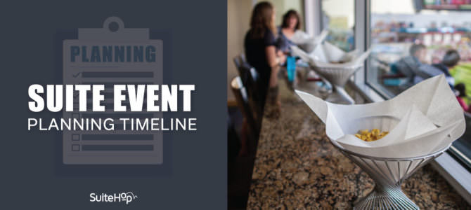 Infographic: Suite Event Planning Timeline