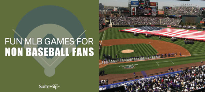 Fun MLB Games for People Who Aren't Baseball Fans