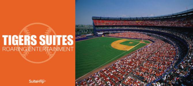 Detroit Tigers Suites- Roaring Entertainment