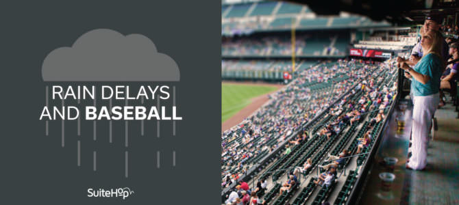 Rain, Rain Go Away- Rain Delays and Baseball