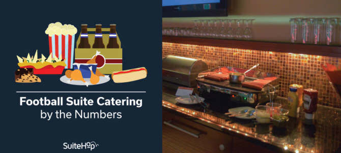 Football Suite Catering by the Numbers