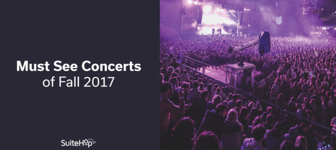 Must See Concerts of Fall 2017